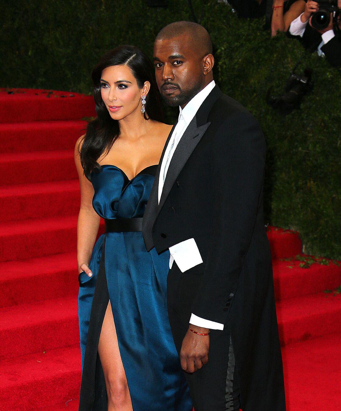 En couple depuis 2012, Kim Kardashian et Kanye West (ici au Met Ball de 2014) forment l'un des couples les plus puissants d'Hollywood