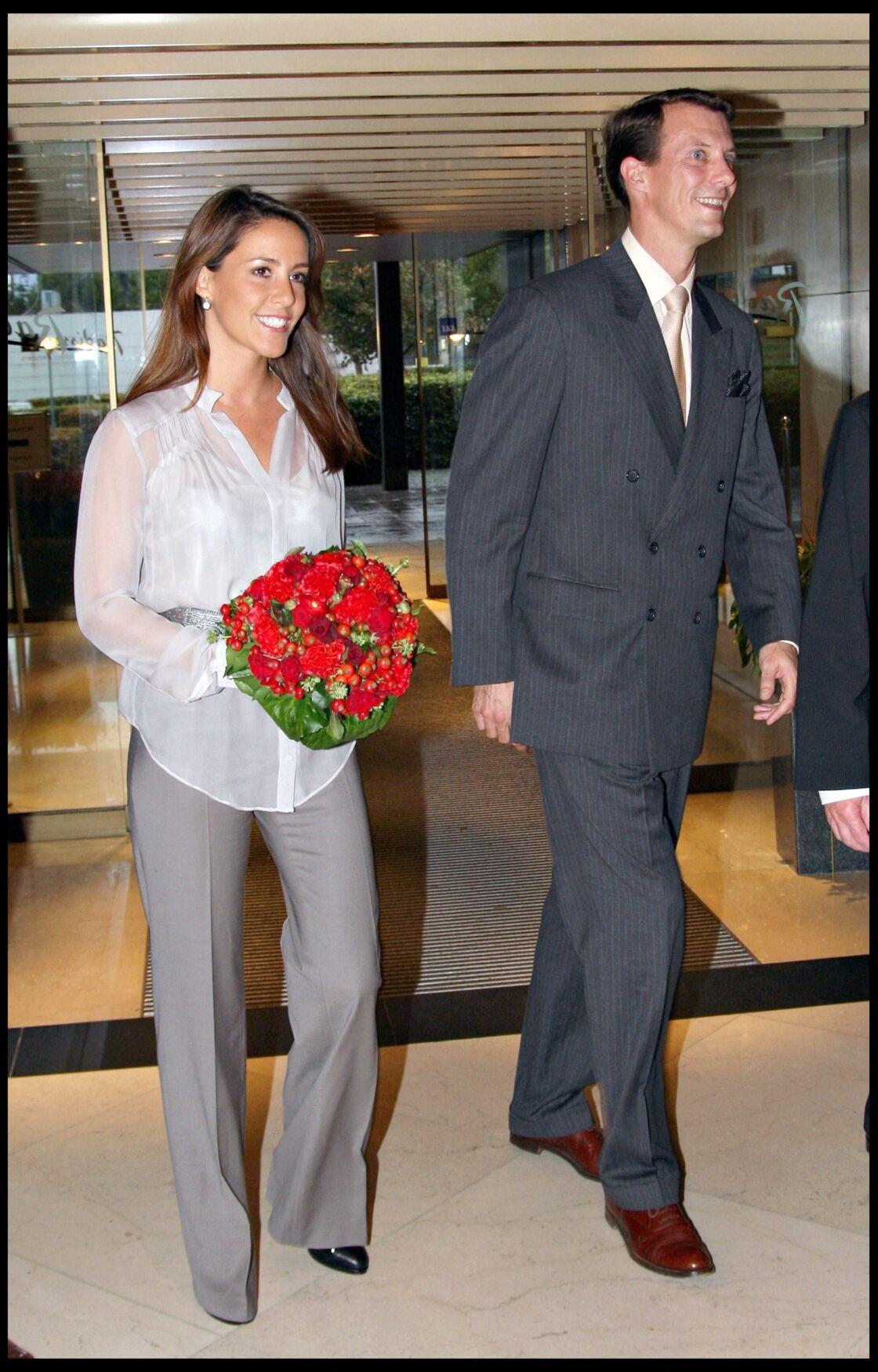 Le prince Joachim de Danemark et la princesse Marie en 2008.