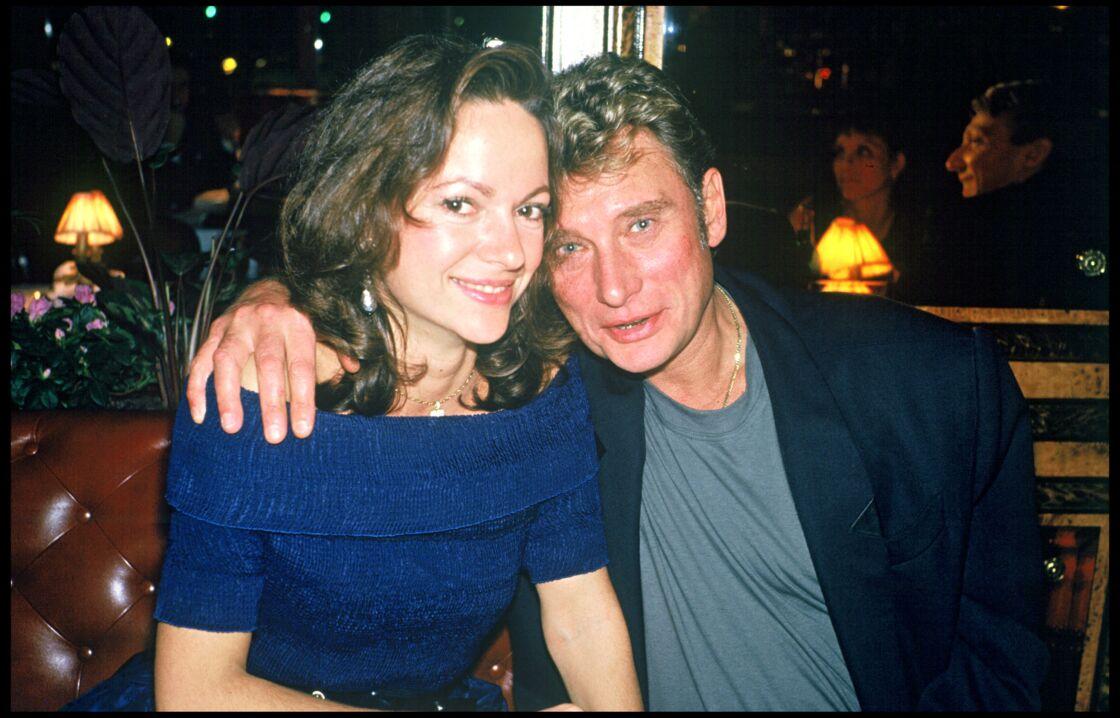 Johnny Hallyday et Gisèle Galante