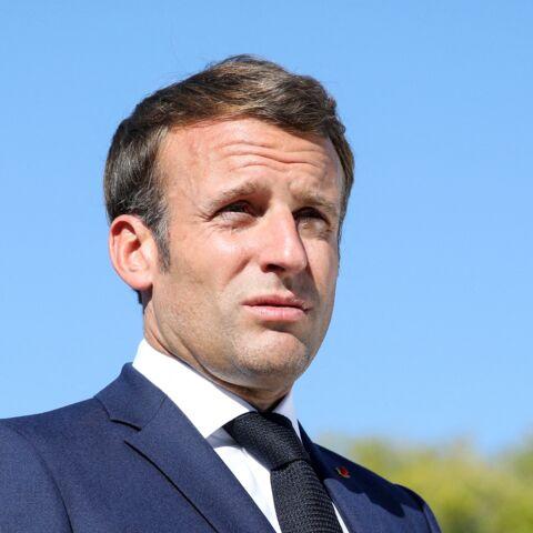 PHOTO – Emmanuel Macron, un supporter de l'OM gâté par… le PSG!