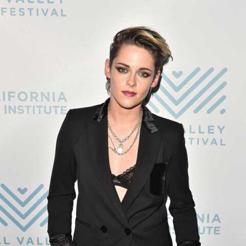 PHOTOS – Kristen Stewart: pourquoi elle ne quitte jamais son collier cadenas?