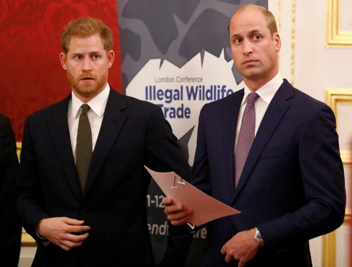 Longtemps considérés comme inséparables, Harry et William ne s'adressent plus aujourd'hui que rarement la parole