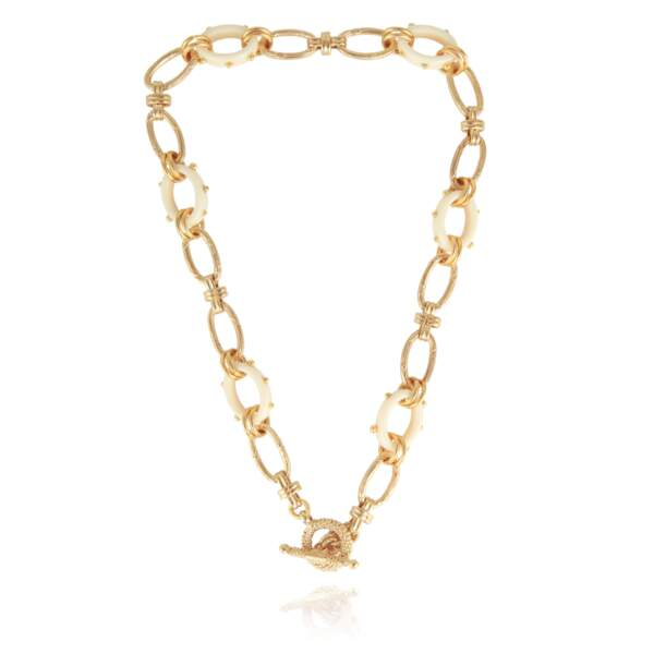 Collier en or, 160€, Gas Bijoux