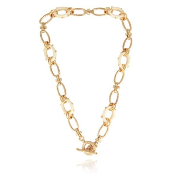Collier en or, 160€, Gas Bijoux