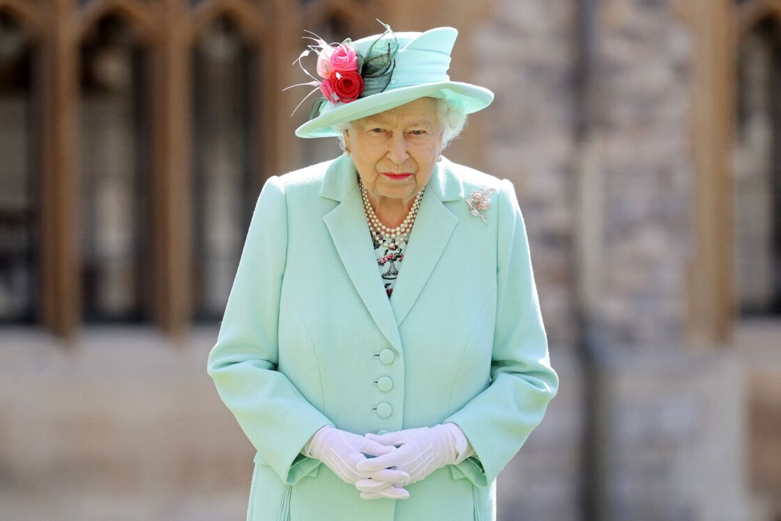 La reine Elizabeth à Bughingham