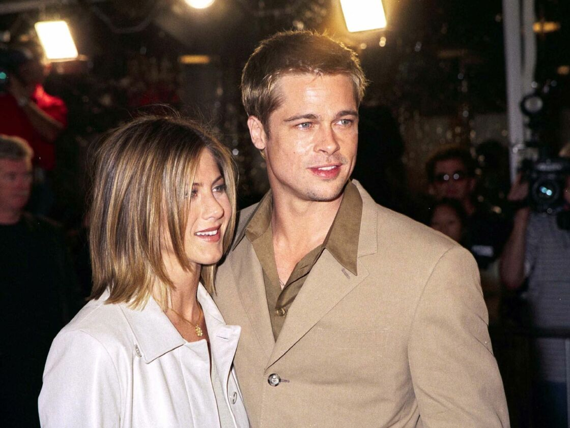 Brad Pitt et Jennifer Aniston, ici en 2001, font rêver le public avec leur couple parfait