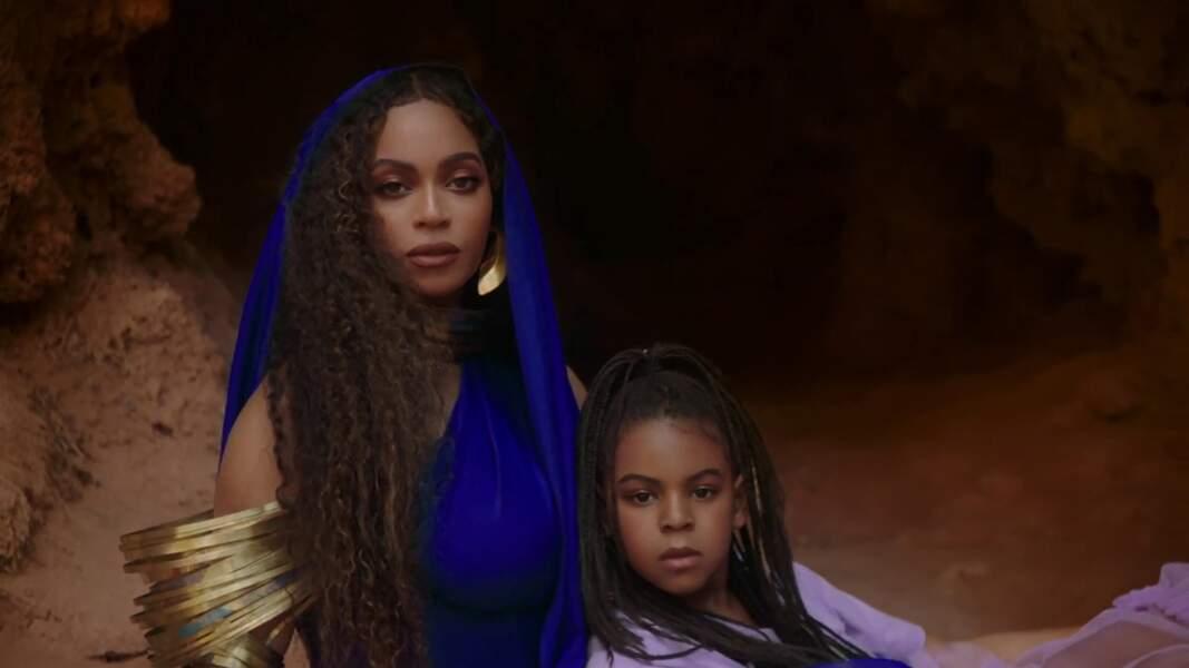 Blue Ivy est le sosie de sa mère Beyoncé