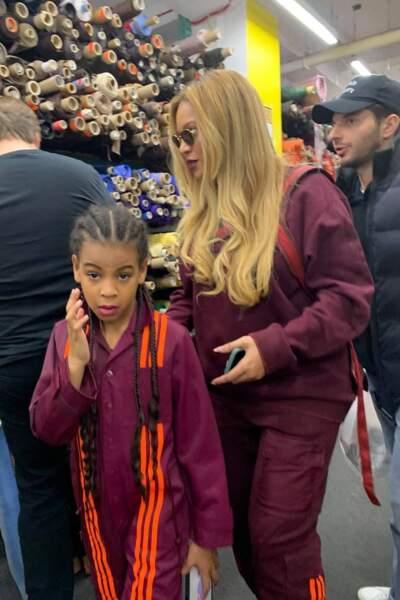 Blue Ivy, la fille aînée de Beyoncé et Jay-Z, est aujourd'hui âgée de 8 ans et demi
