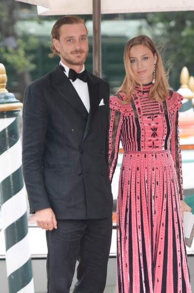 Beatrice Borromeo et Pierre Casiraghi, un couple de star invité à la Mostra de Venise en septembre 2017.