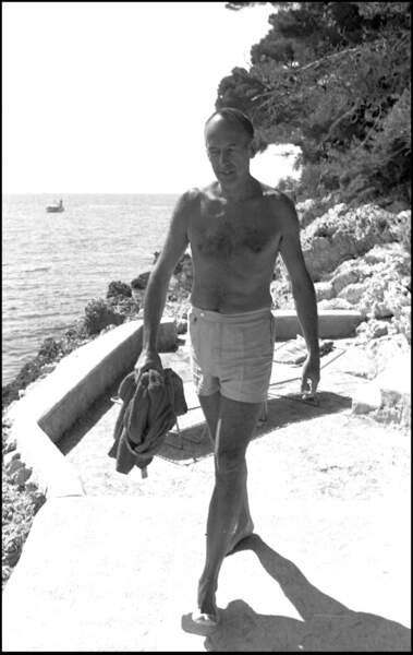 Lorsqu'il était à Brégançon, Valéry Giscard d'Estaing aimait aller se détendre sur la plage
