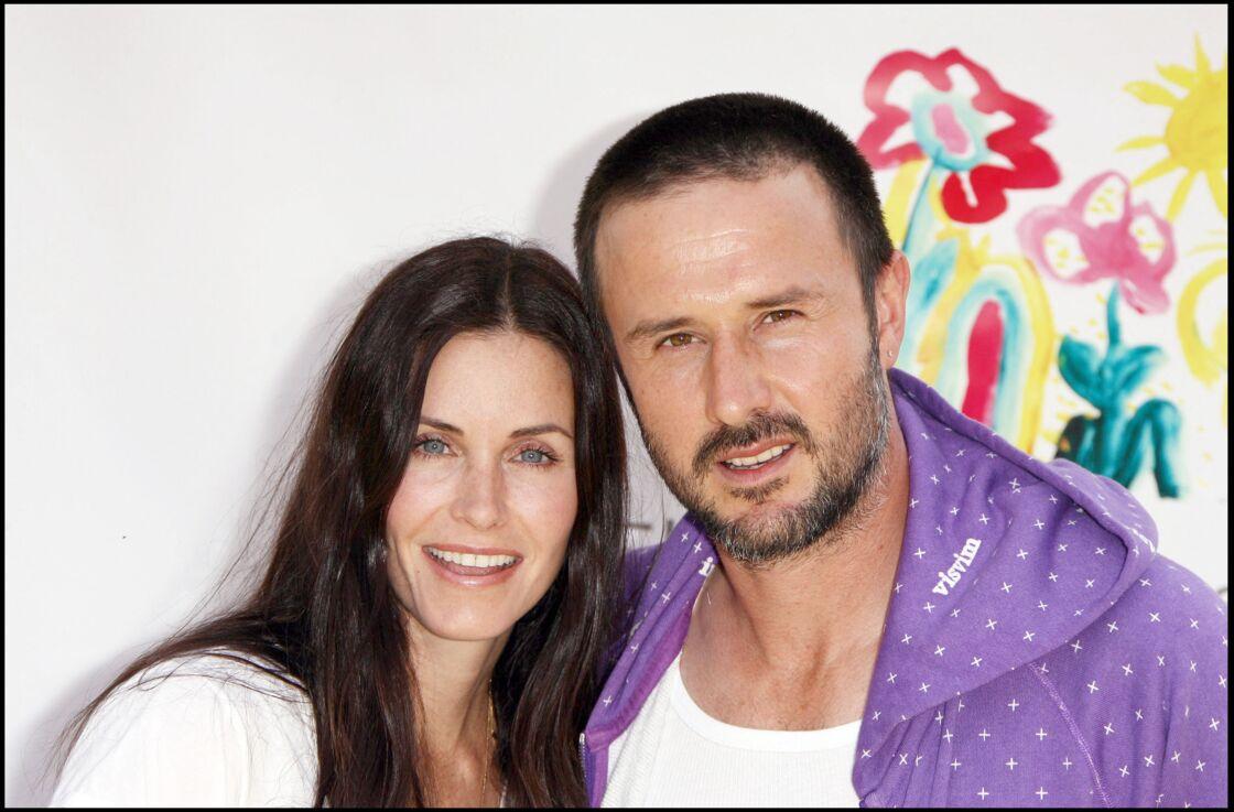 Courteney Cox et son ex-mari David Arquette