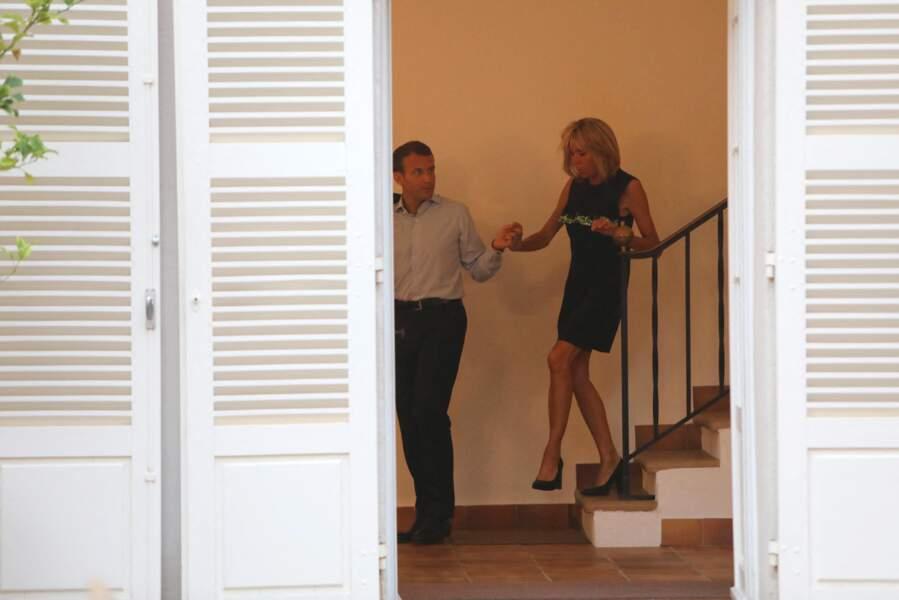 C'est désormais Emmanuel Macron qui se rend chaque été au Fort de Brégançon, avec son épouse Brigitte