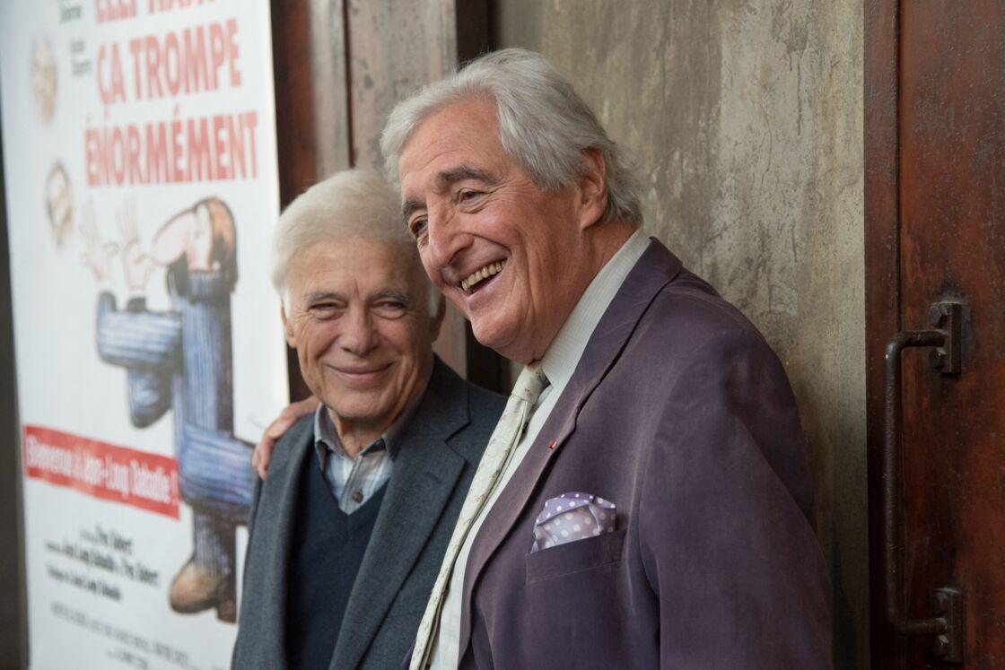 Guy Bedos et Jean-Loup Dabadie, le 10 octobre 2016