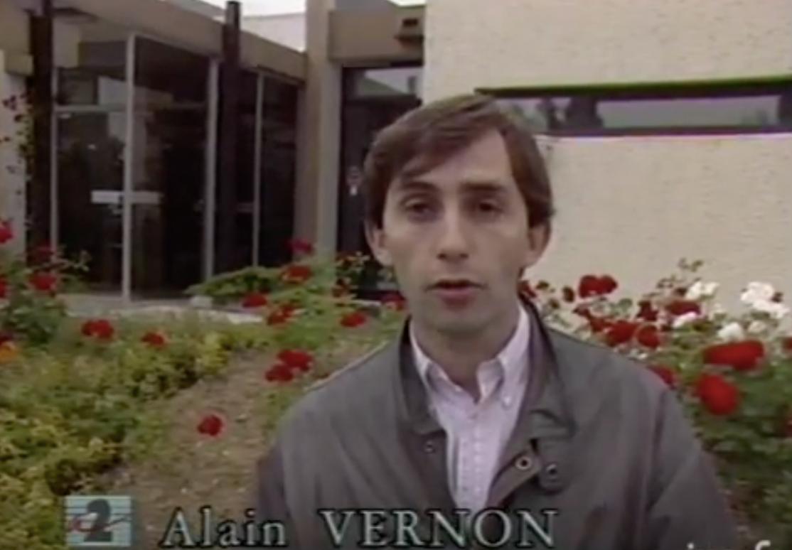 Alain Vernon en 1989