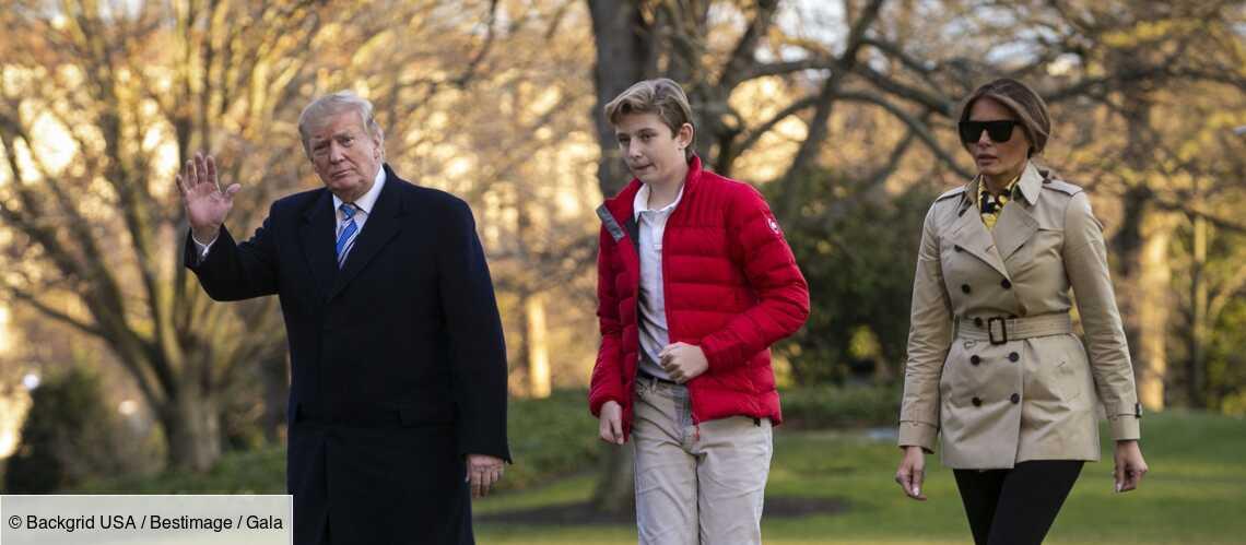 Melania Trump : son fils Barron pas près de retourner à l'école… Donald Trump voit rouge - Gala