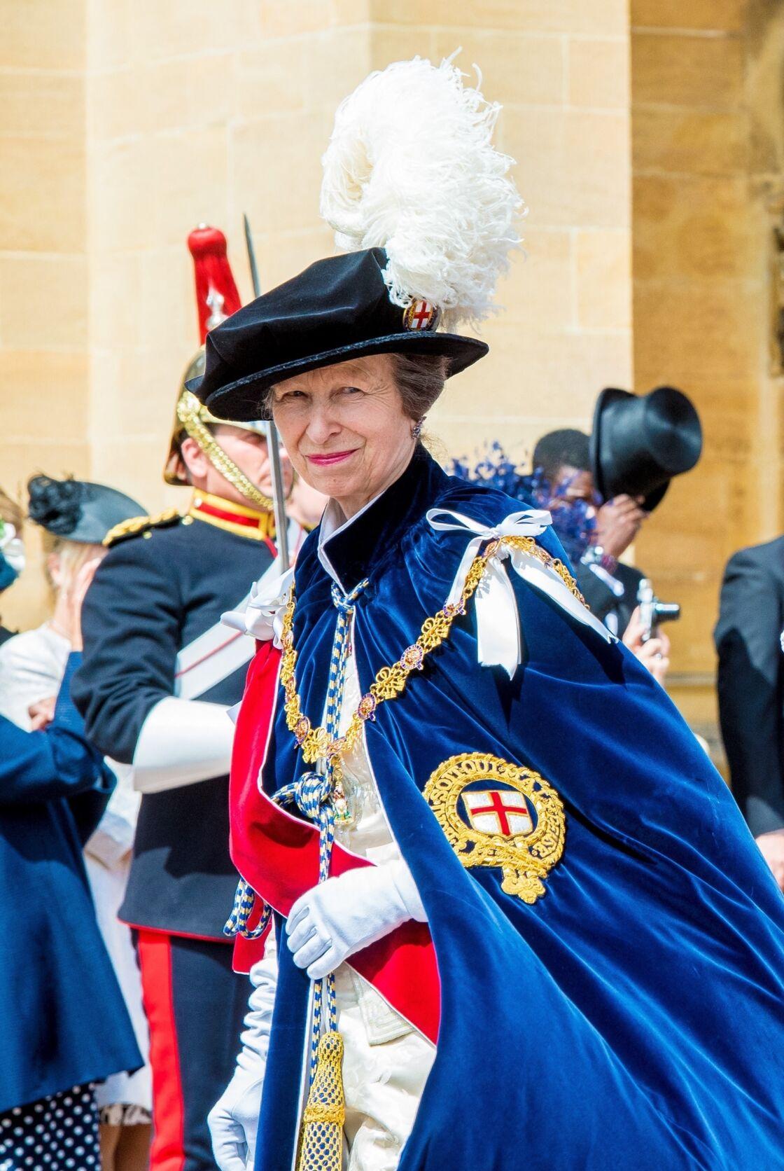 La princesse Anne, fille unique de Sa Majesté Elizabeth II et du prince Philip, soufflera ses 70 bougies le samedi 15 août 2020