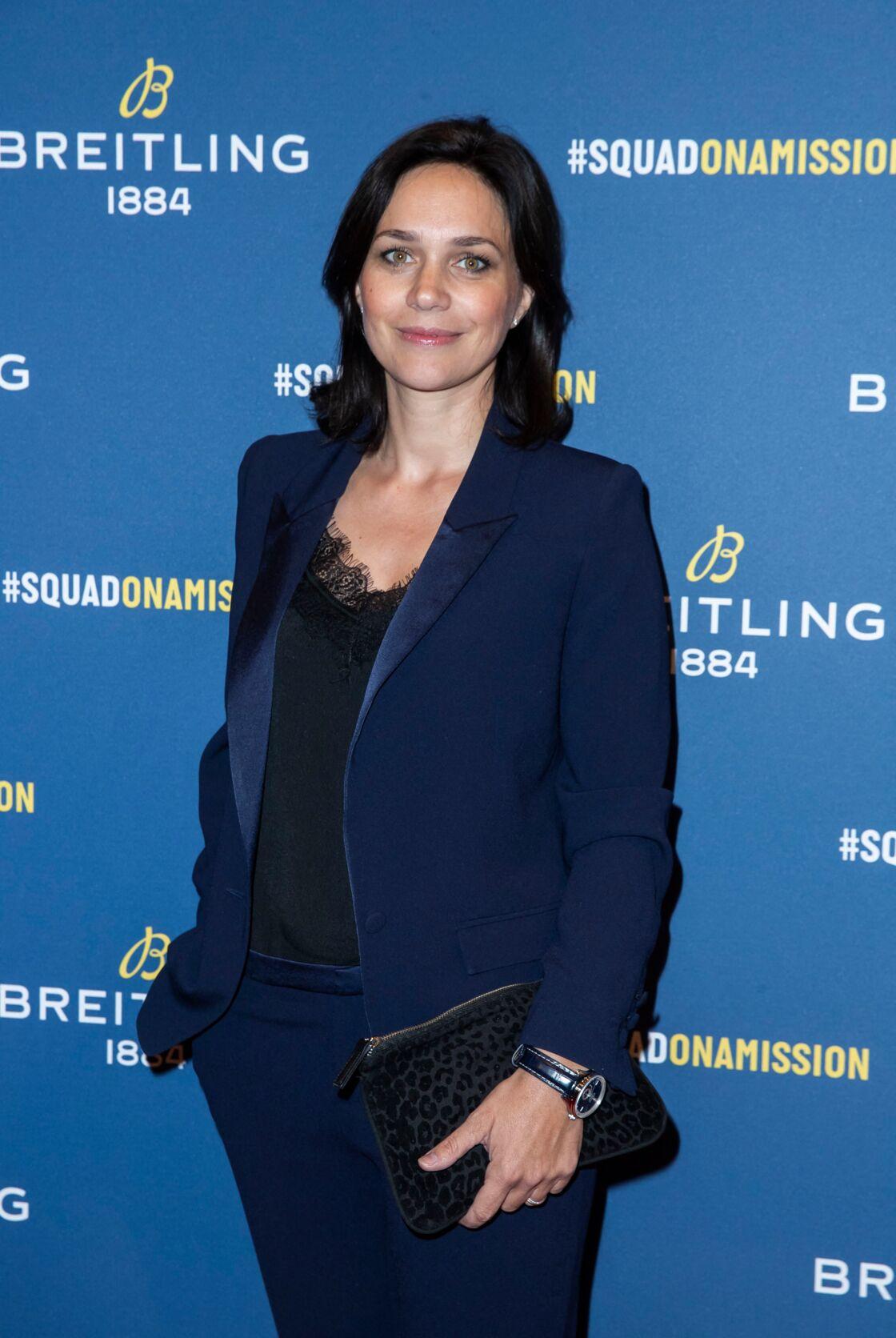 Nathalie Péchalat, présidente de la Fédération Française des Sport de Glaces