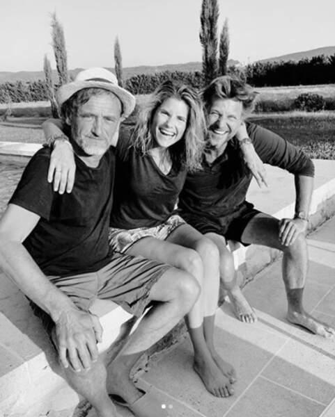 C'est d'ailleurs là que Laurent Delahousse et Alice Taglioni ont pu retrouver leur ami, Jean-Paul Rouve