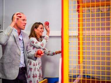 PHOTOS - Kate Middleton et William s'affrontent à des jeux : cette scène cocasse