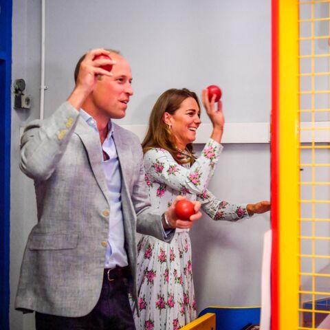 PHOTOS – Kate Middleton et William s'affrontent à des jeux: cette scène cocasse
