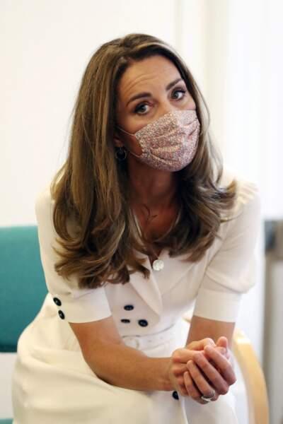 Inquiète pour les familles défavorisées durant l'épidémie de coronavirus, Kate Middleton a convaincu 19 sociétés de faire des dons