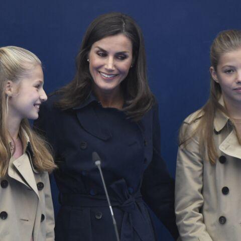 Exil de Juan Carlos: Letizia et ses filles plus que jamais sur le devant de la scène