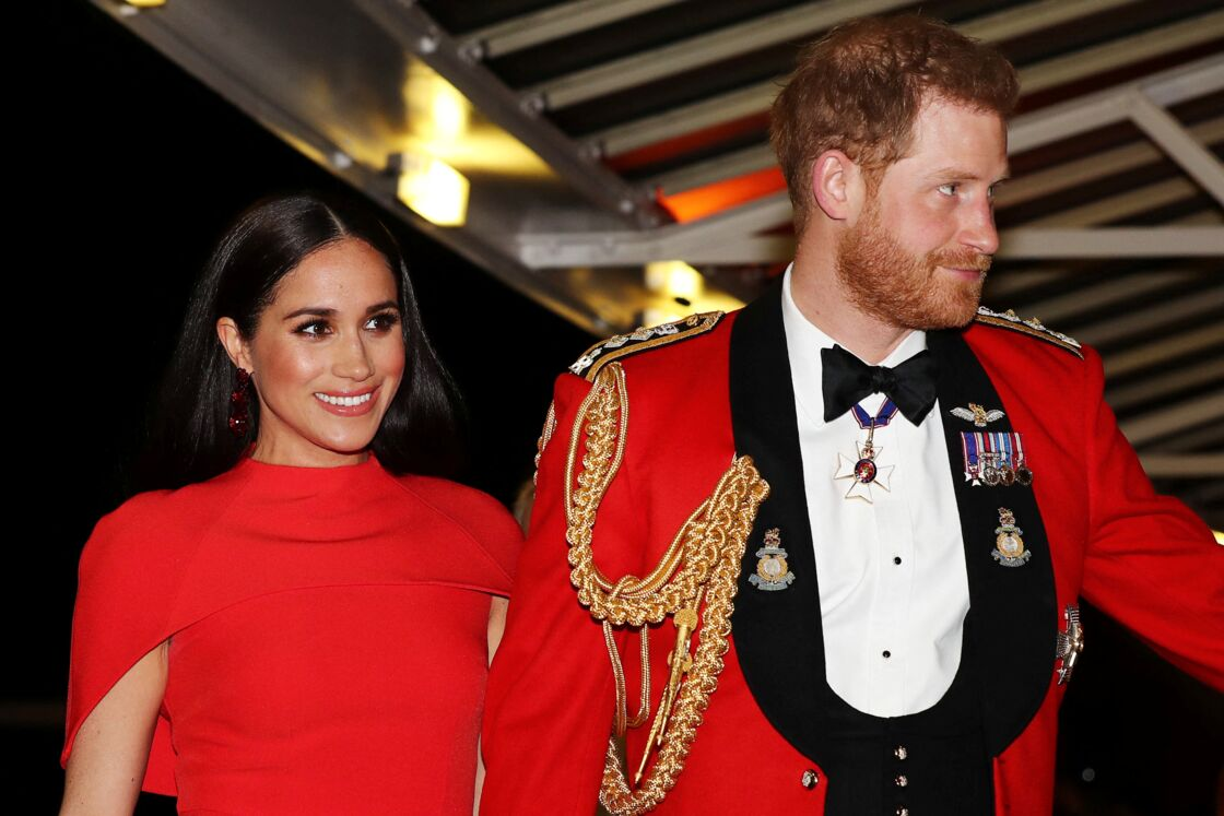 Meghan Markle et le prince Harry le 7 mars 2020
