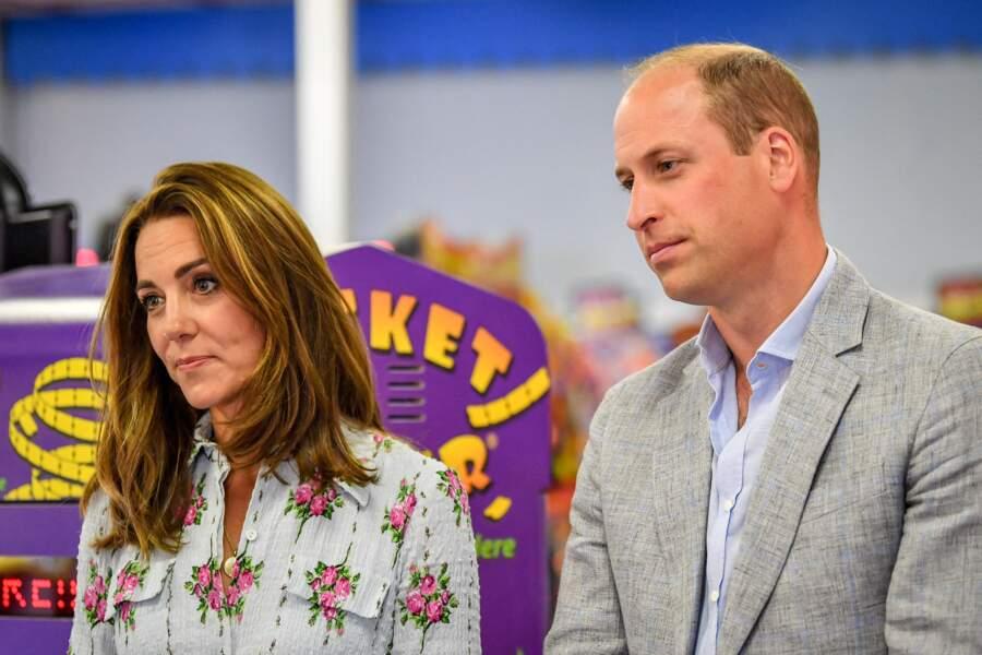 Kate et William à l'écoute des commerçants