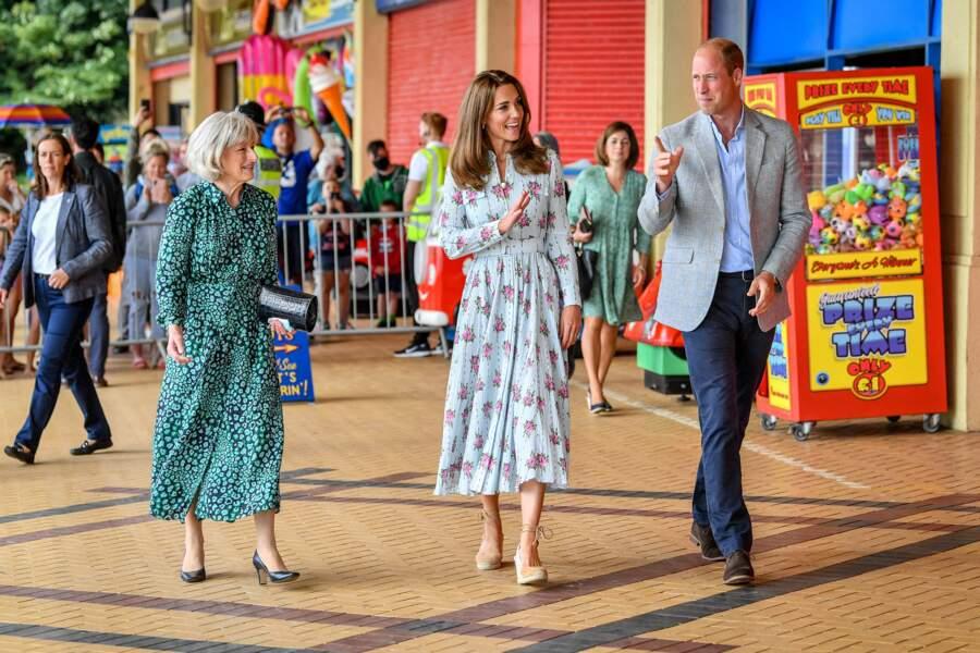 Kate et William : l'heure de quitter l'aire de jeux