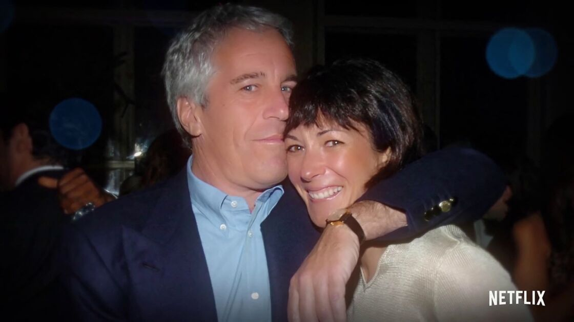 Jeffrey Epstein et Ghislaine Maxwell, dans la série documentaire