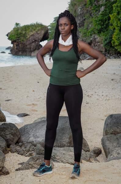 Hadja, candidate de Koh-Lanta Les 4 Terres sur TF1