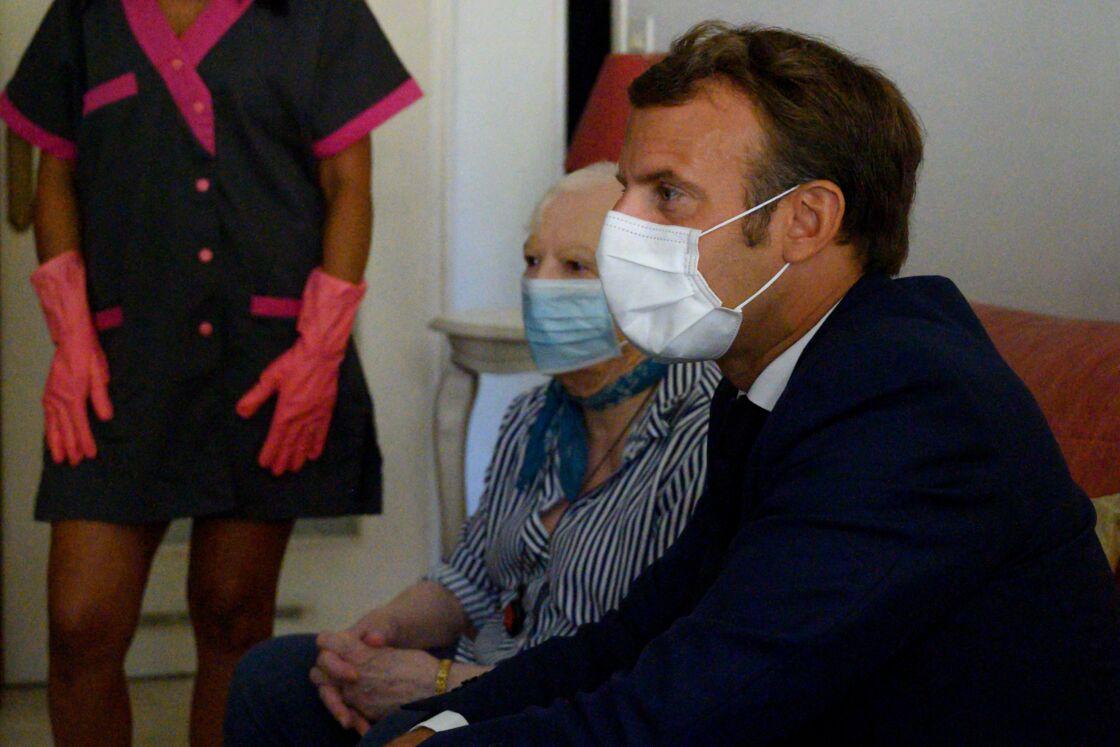 Brigitte Macron en visite masquée à Toulon le 4 août dernier