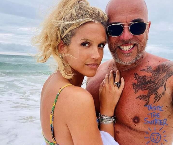 Pascal Obispo et sa chérie Julie en vacances au Cap Ferret