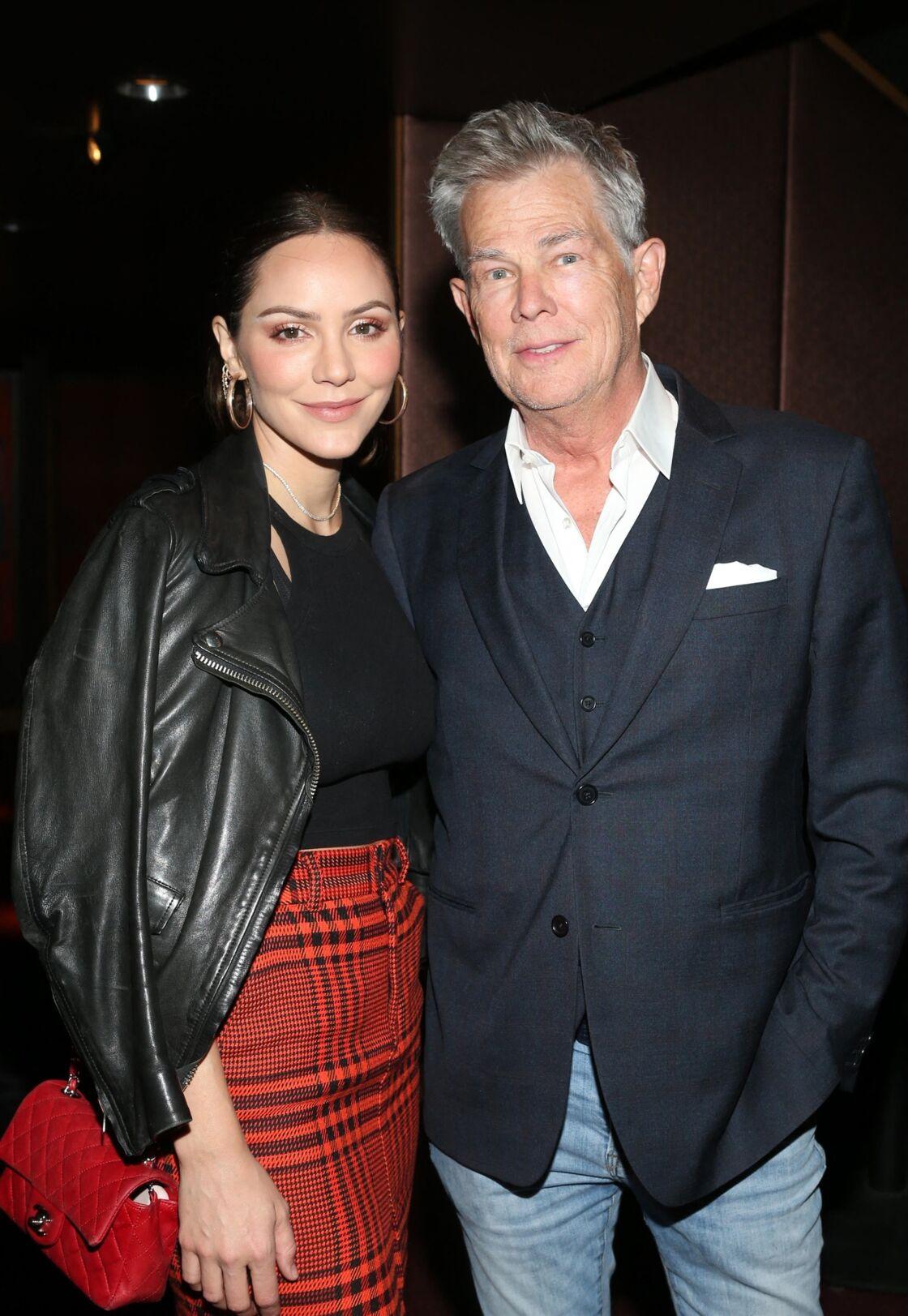 David Foster et sa femme Katharine McPhee
