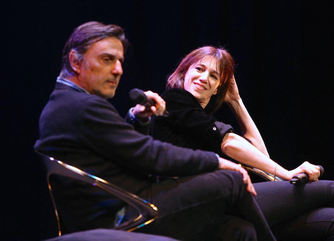 Conversation avec Charlotte Gainsbourg et son compagnon Yvan Attal après la première du film
