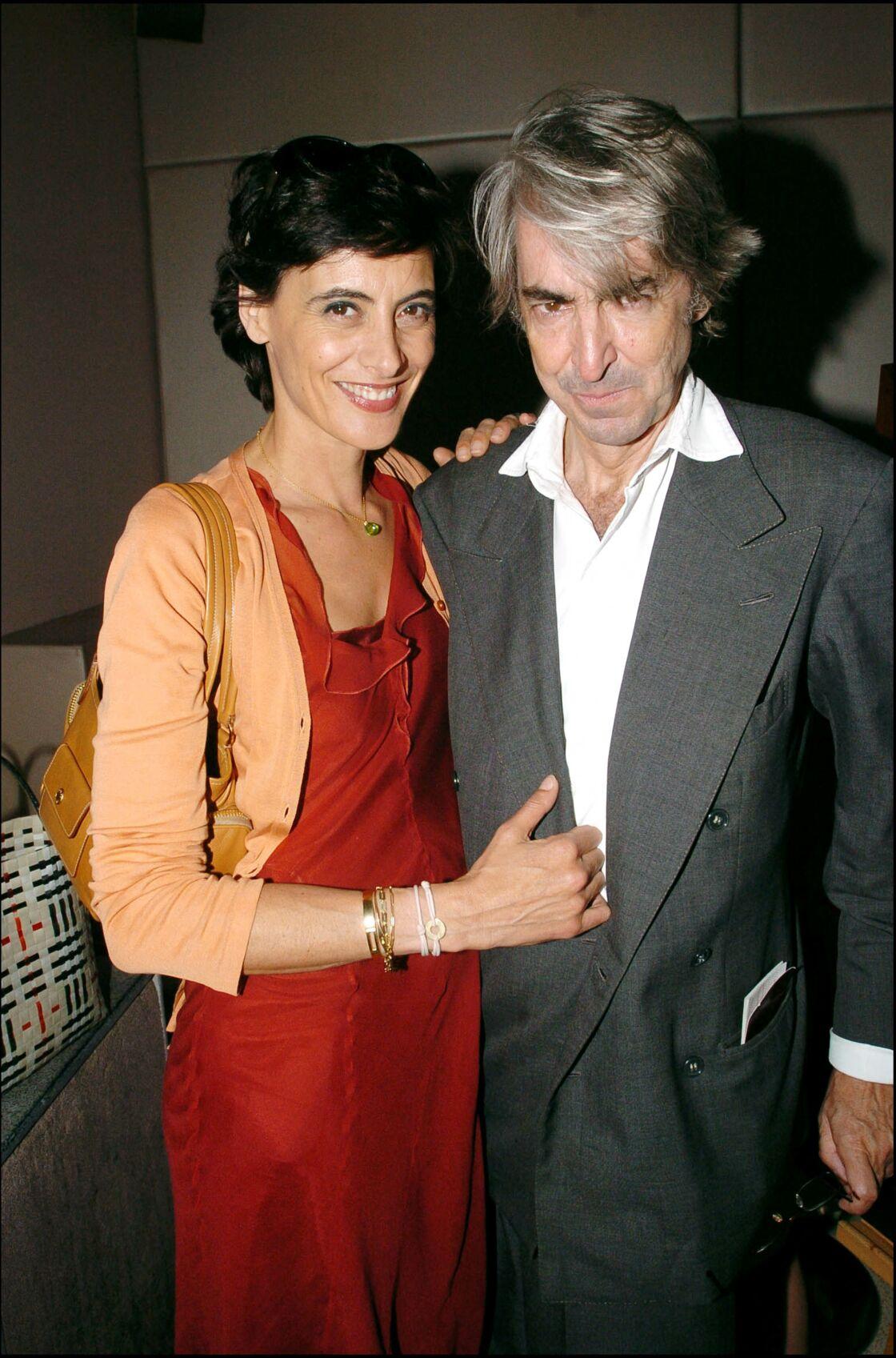 Ines de la Fressange et son mari Lugi d'Orso en 2004