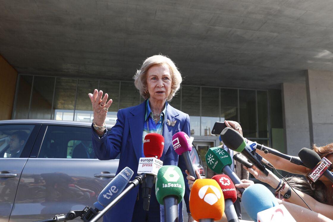 La reine Sofia restera en Espagne