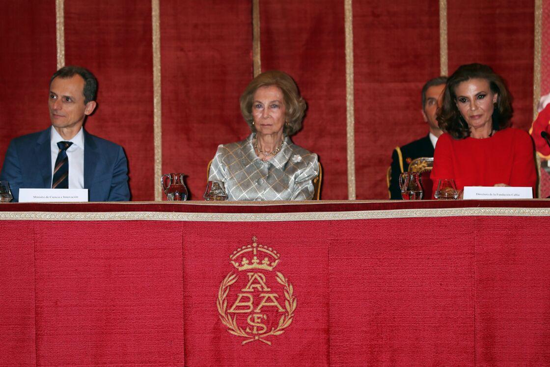 La reine Sofia lors d'une cérémonie de remise de prix pour la fondation Callia, le 26 février 2020.