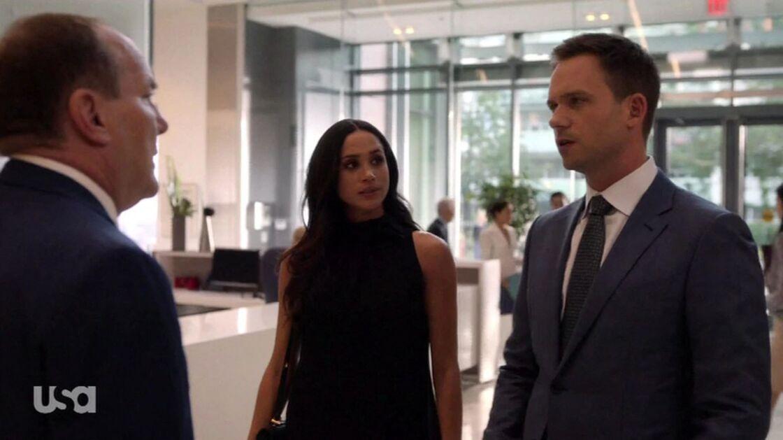 Meghan Markle dans la série Suits.