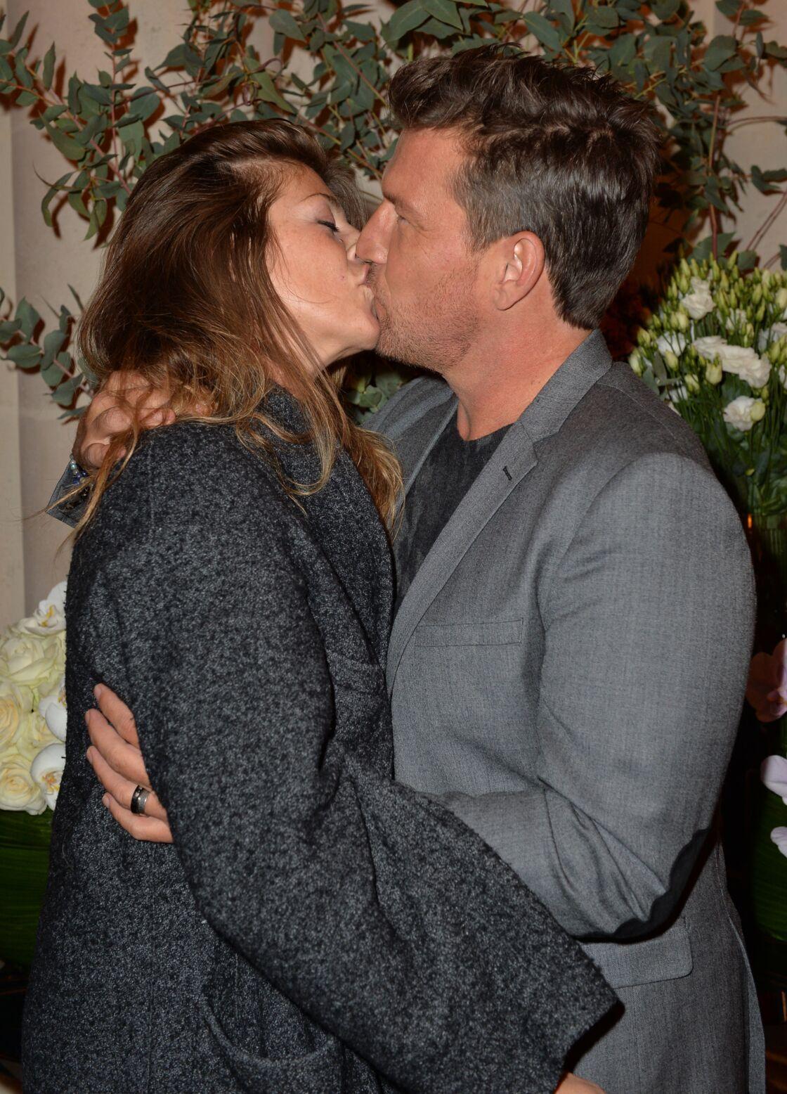Benjamin Castaldi et sa femme Aurore Aleman - Inauguration du nouvel hôtel 5 parisien au cœur du Triangle d'Or