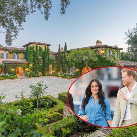 PHOTOS – Meghan et Harry: piscine, bar, 16 salles de bain… Découvrez leur villa de luxe