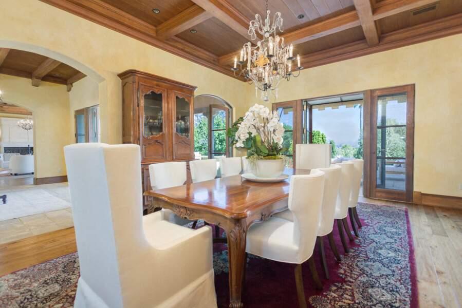 La nouvelle salle à manger de Meghan Markle et du prince Harry où ils pourront dîner en famille et accueillir leurs nombreux invités.