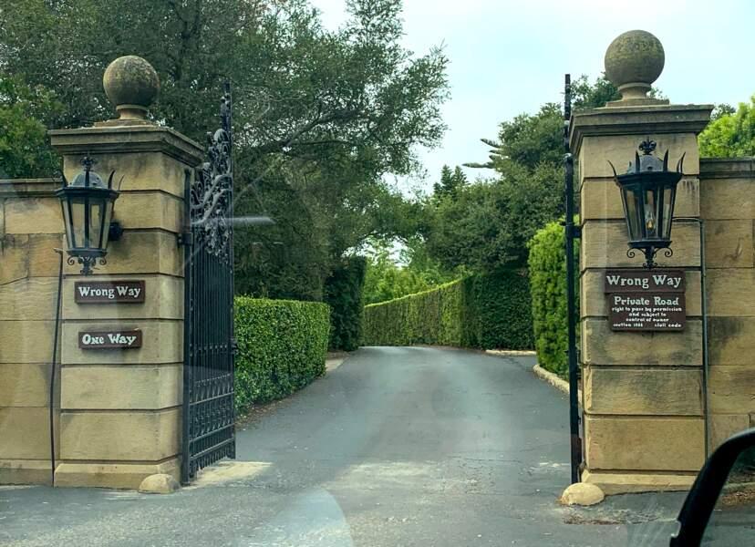 La villa de Meghan Markle et du prince Harry est située dans une résidence très privée.