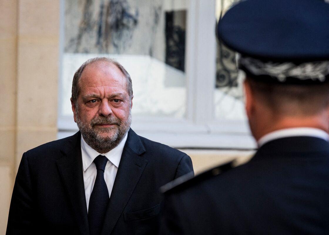 Éric Dupond-Moretti au ministère de la Justice, le 13 juillet 2020
