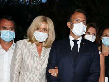 PHOTOS - Brigitte et Emmanuel Macron à Brégançon : ils restent fidèles aux traditions