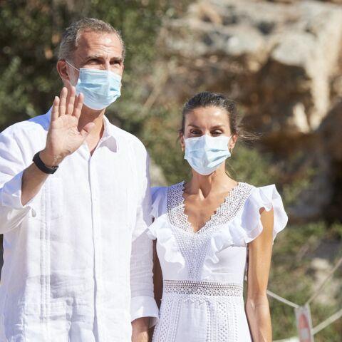 PHOTOS – Exil de Juan Carlos: Felipe et Letizia d'Espagne sauvent les apparences