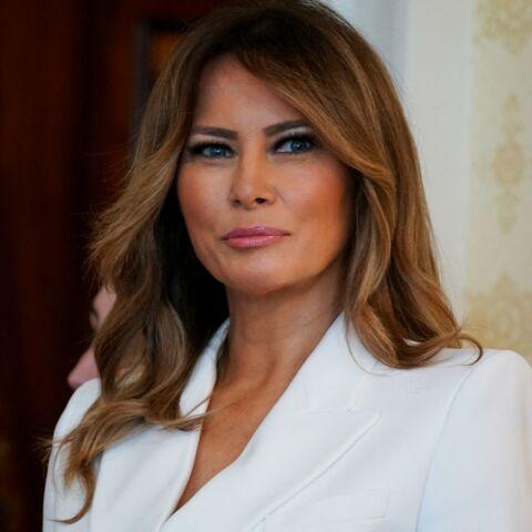 PHOTOS – Melania Trump chic et engagée: ce look riche en symboles