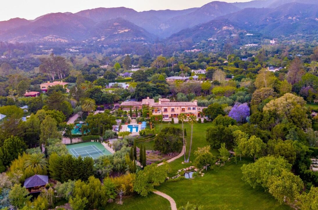 À Montecito, Meghan Markle et Harry ont vu les choses en grand avec une villa digne d'un palais