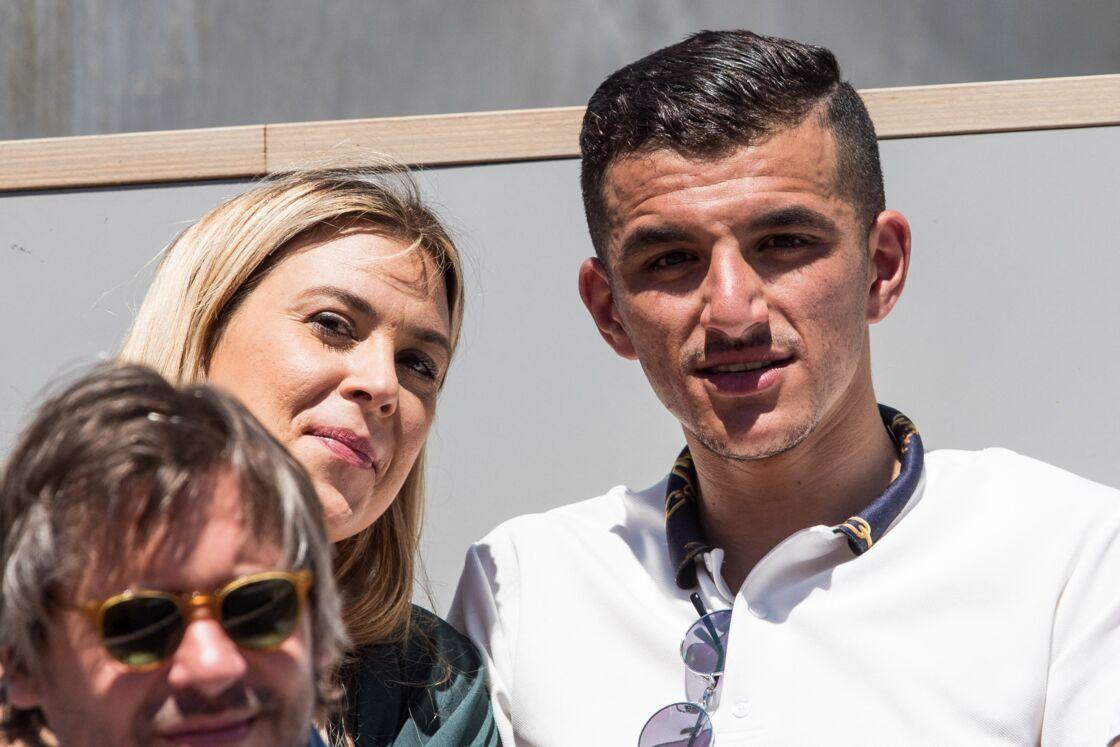 MArion Bartoli et son compagnon, Yahya Boumediene, à Roland-Garros, en juin 2019.