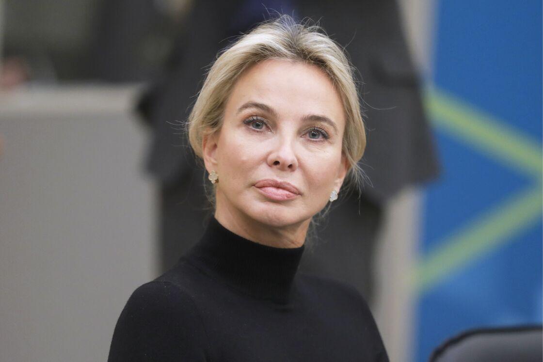 Corinna Larsen, en Russie, le 17 novembre 2017
